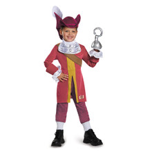 Captain Hook Deluxe Child SML- 4-6
