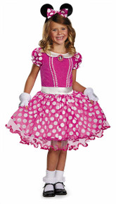 Mickey Mouse Clubhouse Pink Minnie Tutu Prestige Girls Costume