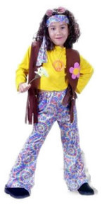 Hippie Chick Child Costume