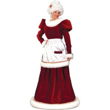 Mrs Claus Velvet Dress