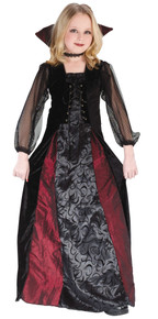 Gothic Maiden Vampire Child Costume