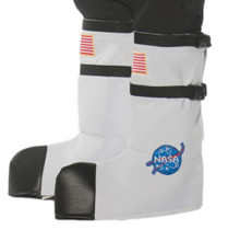 White Adult Astronaut Boot Tops