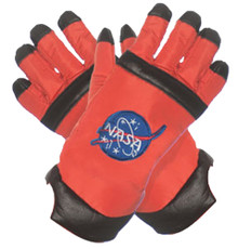 Orange Adult Astronaut Gloves