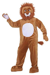 Leo the Lion Mascot Adult Costume