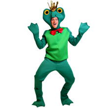 Frog Prince Costume Adult Standard