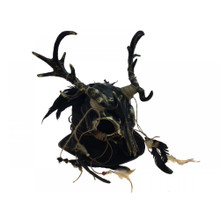 Ancestral Demon Metallic Gold Headpiece