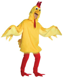 Fuzzy Chicken Costume Adult Standard