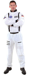 Astronaut White Space Suit Adult Costume XXL
