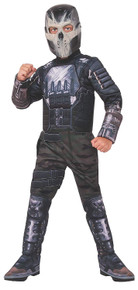 Crossbones Deluxe Muscle Chest Child Costume