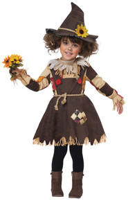 Pumpkin Scarecrow Child Costume