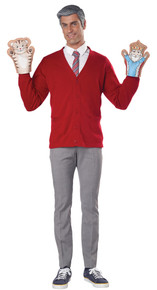 Be My Neighbor Adult Costume Kit
