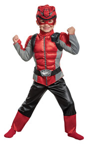 Power Rangers  Red Beast Morphers Child Costume