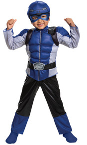Power Rangers Blue Beast Morphers Child Costume Toddler 3t-4t