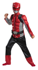 Power Rangers Red Beast Morphers Muscle Child Costume