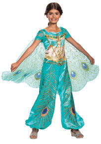 Jasmine Aladdin Deluxe Child Costume