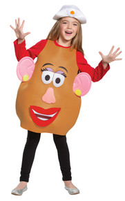 Mr. & Mrs. Potato Head Deluxe Child Costume Small