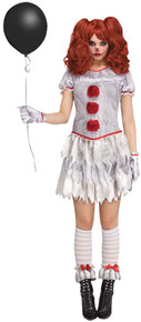 Carnevil Female Clown Adult Costume