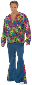 Psychedelic Guy Adult Costume
