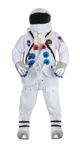 White Astronaut Deluxe Adult Costume