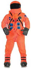 Orange Astronaut Deluxe Adult Costume