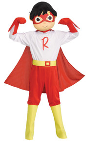 Ryan's World Red Titan Toddler Costume 3T-4T