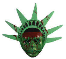 The Purge Light Up Lady Liberty Facemask