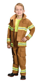 Tan Fire Fighter Child Costume