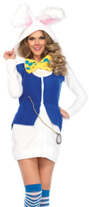 Cozy White Rabbit Adult Costume