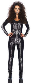 X-Ray Skeleton Unitard Adult Costume XLRG