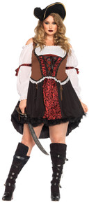 Ruthless Pirate Wench Plus Size Costume (1x/2x)
