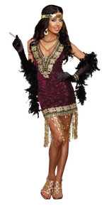 Sophisticated Lady Adult Costume