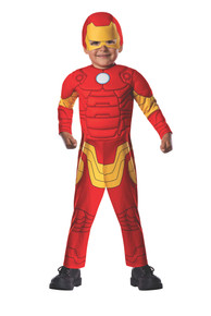 Iron Man Deluxe Muscle Chest Toddler Costume