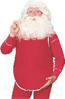 Stuffed Santa Belly