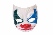 Evil Clown Masquerade Half Mask