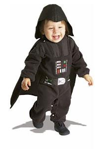 DARTH VADER COSTUME TODDLER 1-2
