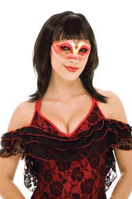 Red Masquerade Eyemask