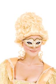 White Masquerade Eyemask
