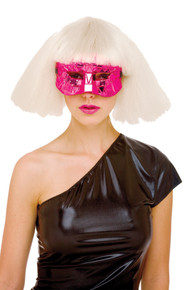 Urban Future Pink Domino Eyemask
