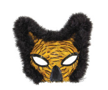 Gold Lion Feather Eyemask