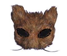 Feathered Cat Eyemask