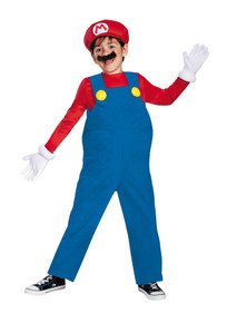 Super Mario Deluxe Child Costume Large 10-12