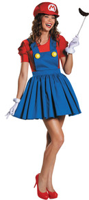 Super Mario Skirt Women's Costume