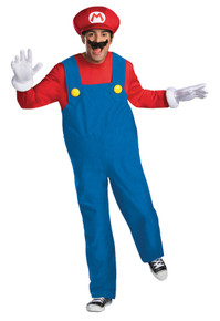 Super Mario Deluxe Teen Costume