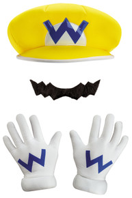 Wario Child Costume Kit