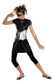 Black Suited Spider-Girl Child Costume Medium 7-9