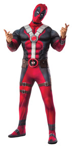 Deadpool Deluxe Muscle Chest Adult Costume