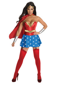 Wonder Woman Deluxe Corset Adult Costume