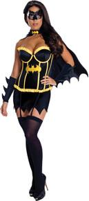 Batgirl Deluxe Corset Adult Costume