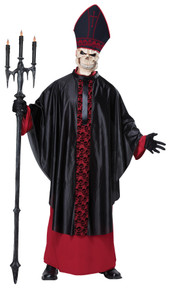 Black Mass Priest Adult Costume L/XL