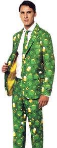 St. Patrick's Day Icons Men's Suit